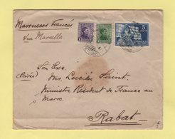 Uruguay - Destination Rabat Maroc (pour Un Ministre) - 1931 - Uruguay