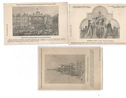 3 Cartes -processions à Fromelles Le7.09-1913 - France