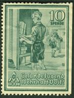 """Deutsches Reich Jugendherbergswerk 1935 """" Paketbotin Briefträgerin """" Vignette Cinderella Reklamemarke - Erinnophilie"""
