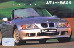 TELEFONKARTE JAPAN * BMW (249) Phonecard  * VOITURE * AUTO * CAR * Telecarte JAPON - Cars