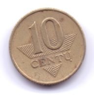 LIETUVA 1997: 10 Centu, KM 106 - Lituanie