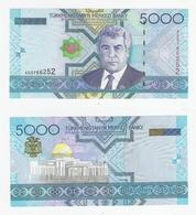 Turkmenistan  P. 21  5000 Manat 2005 AD 3766252 UNC - Turkmenistan