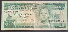 EM0505 - Ethiopia 1 Birr Banknote 1976 (EE 1969) - Ethiopie