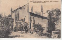 ESPIET ( Gironde ) - Le Moulin Neuf  ( Xiii è Siècle )  PRIX FIXE - Moulins à Eau