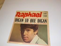 45 TOURS  RAPHAEL DIGAN LO QUE DIGAN 1968 - Vinyl-Schallplatten