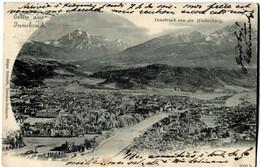 AUTRICHE AUSTRIA Innsbruck Vue Générale 1902 - Innsbruck
