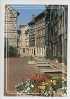 Rouen : Rue Eau De Robec (eaux) Cp Vierge N°104 Mage - Parterre Fleuri - Rouen