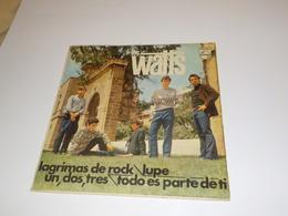 45 TOURS  LOS WATTS LAGRIMAS DE ROCK 1966 - Vinyles