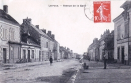 36 - Indre - LEVROUX - Avenue De La Gare - Café - Tabac - Autres Communes