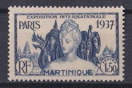 ùartinique  Y&T N° 166  Neuf  **  Valeur 3.57 Euros - Martinique (1886-1947)