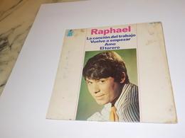 45 TOURS  RAPHAEL LA CANCION DEL TRABAJO 1966 - Vinyl-Schallplatten