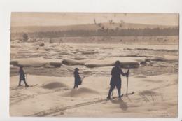 27802 NORGE NORVEGE Ved Björnsjöen -ais Abel Skunstforlag N° 33 -ski Neige 1913 - Norvège