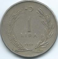 Turkey - 1 Lira - 1957 - KM889 - Turquia