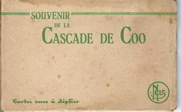 Carnet De Cartes Postales De La Cascade De Coo - Stoumont