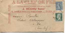 LETTRE - N° 161 + 170 - France