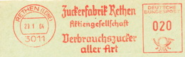 Freistempel 3115 Zuckerfabrik - Affrancature Meccaniche Rosse (EMA)