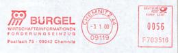 Freistempel 3188 Bürgel Eule - Poststempel - Freistempel
