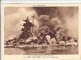 """WW2 1939 Sabordage Du Croiseur Lourd """" Graf Von Spee """" Kriegsmarine - Guerra 1939-45"""