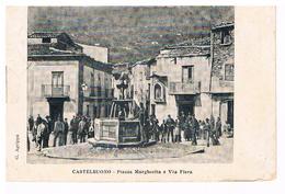 B3537 - Castelbuono,Piazza Margherita E Via Della Fiera, Viaggiata 1904 Perfetta - Palermo