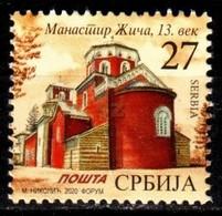 Serbia, 2020, Definitive - Zica Monastery, Set, MNH, Mi# - Serbie