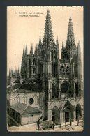 BURGOS LA CATEDRAL FACHADA PRINCIPAL - Edición HAUSER Y MENET - Postal - Burgos