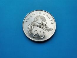 SINGAPOUR   -  20  Cents   1997   -- SPL --   Singapore - Singapur