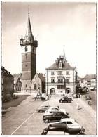 67 OBERNAI  -- La Mairie & La Tour Kappel (  Voitures 1950,203, Vedette ,Traction ) - Obernai