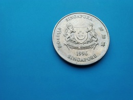 SINGAPOUR   -  20  Cents   1996   -- SUP --   Singapore - Singapur