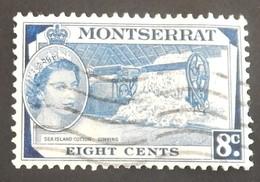 MONTSERRAT YT 137 OBLITÉRÉ ANNÉE 1955 - Montserrat