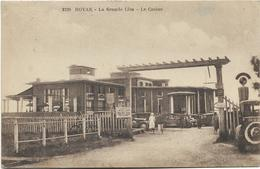 17 - ROYAN - La Grande Côte - Le Casino. Animée, CPA Ayant Circulé En 1938. - Royan