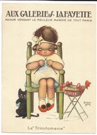 La Tricotomanie - Illustrateur BEATRICE MALLET - AUX GALERIES LAFAYETTE - Mallet, B.