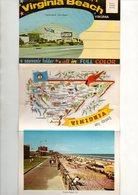 Dépliant Touristique De 20 Cartes Postales This Is Virginia Beach Virginia A Souvenir Folder - All In Full Color - Virginia Beach