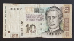EM0505 - Croatia 10 Kuna Banknote 2001 #A6837363F - Croatia