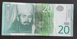 EM0505 - Serbia 20 Dinara Banknote 2013 #AE 7010036 - Serbia