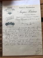 Vins Du Minervois - Jacques Braun -Caunes-minervois - 1908 - 1900 – 1949