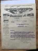 Société De Constructions Mécanique De Vierzon - Brouhot & Cie - 1928 - 1900 – 1949