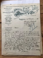 Etablissements Merlin &Cie - Vierzon - 1913 - 1900 – 1949