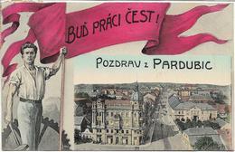 1908 - PARDUBICE , Gute Zustand, 2 Scan - Tchéquie