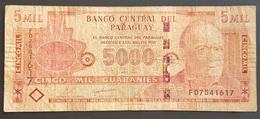 EM0505 - Paraguay 5000 Guarani Banknote 2010 - Paraguay