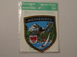 Blason écusson Adhésif Autocollant Achensee (Tyrol) Sticker Coat Arms Aufkleber Wappen Adhesivo Adesiv - Obj. 'Remember Of'