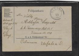 AK 0481  Feldpostkarte Von Gleink Nach Urfahr Um 1917 - Ganzsachen
