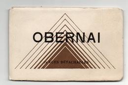 Dépliant De 12 Vues Détachables En Cartes Postales D'Obernai - Format : 14x9 Cm - Obernai