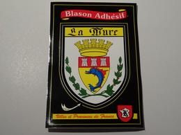 Blason écusson Adhésif Autocollant La Mure (Isère) Sticker Coat Arms Aufkleber Wappen Adhesivo Adesiv - Obj. 'Remember Of'