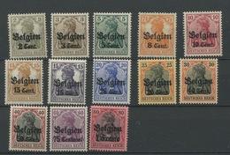 10/22 Belgien Cent **   SANS Charnière. POSTFRIS.  Cote 25,-euros Très Beau.  Super Frais - [OC1/25] Gouv. Gén.