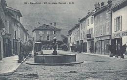VIF (Isère): La Place Carnot - Vif