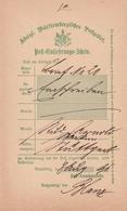 Wuerttemberg / 1891 / Postschein Ortsdruck Neuenbuerg (BE12) - Germany