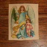 Découpi  XIXe.Un Ange. - Angels
