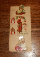 Découpi  XIXe. Ensemble De Père Noël. - Christmas