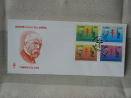 ZAÏRE - FDC - TUBERCULOSE - 1980-89: FDC
