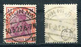 Deutsches Reich Michel-Nr. 198 Vollstempel - Geprüft - Germany